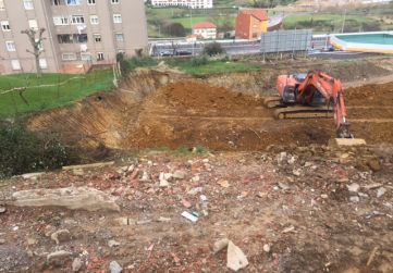 Excavación desde Juan Blanco
