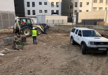 excavaciones parcela 1