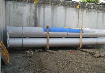 acopio material instalación RRSU