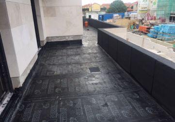 Impermeabilización terrazas Edificio Pico Jano