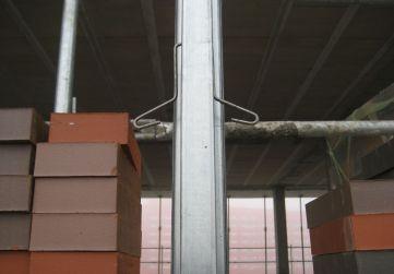 anclaje soporte auxiliar fachada GHAS