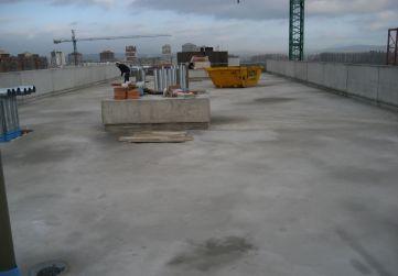 formación de pendiente en cubierta