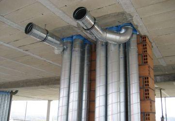 instalación salida humos campanas extractoras