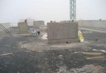ejecución de chimeneas