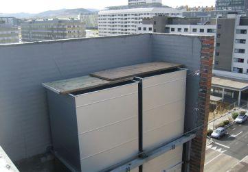 conductos ventilación garajes