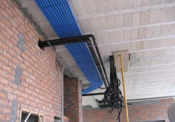 instalaciones por techo planta baja