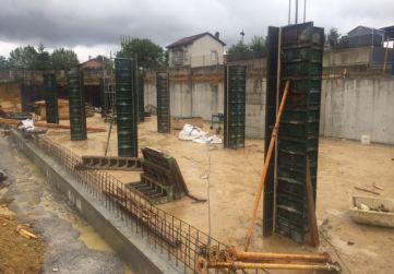 Muros y pilares planta baja