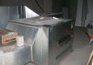 Cuarto ventilación garaje