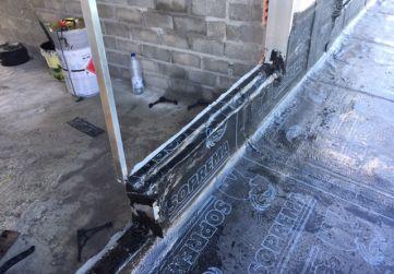 Remate impermeabilización ventana