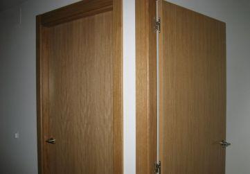 Colocación carpintería interior